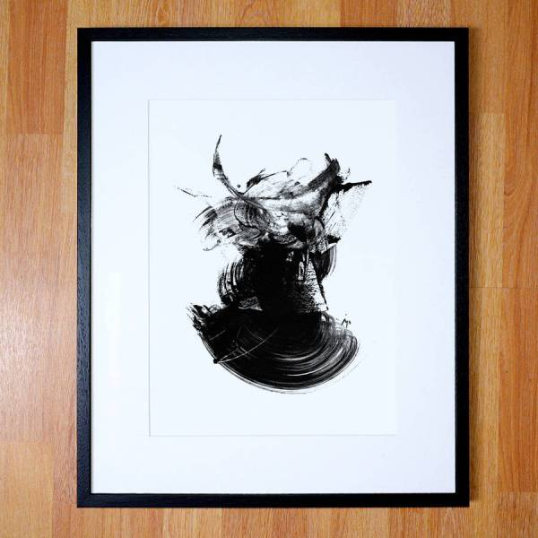 Black and White Abstract Art Prints