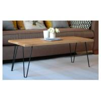jasper coffee table with hairpin legs by renn uk ...