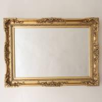 elegant gold mirror by decorative mirrors online ...