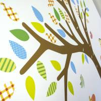 jungle tree fabric wall sticker by mirrorin