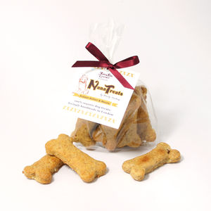 hand baked dog biscuits in gift box by the wedding of my ...