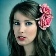 dreamy rose hair flower gg's