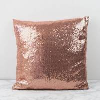 sequin glitter cushion cover by magpie decor ...