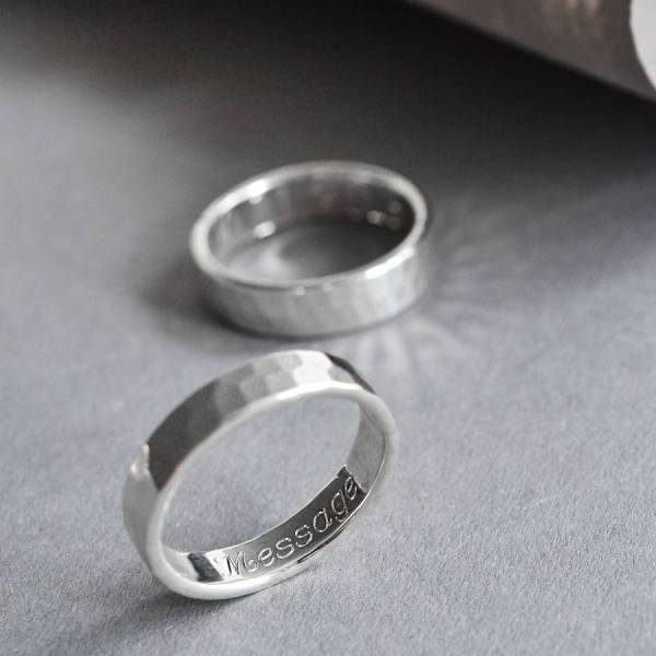 Sterling Silver Secret Message Ring Martha Jackson