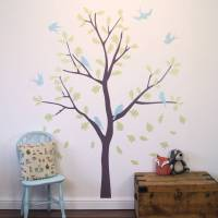 bird tree wall stickers by parkins interiors