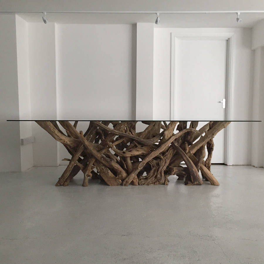 Driftwood Dining Table By Doris Brixham