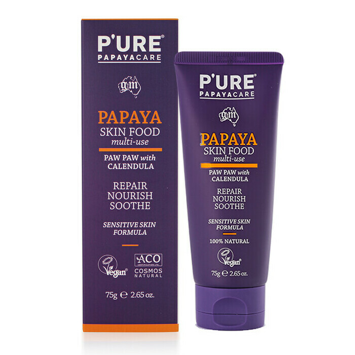 PURE Papaya Care Ointment With Calendula Tube Nourished