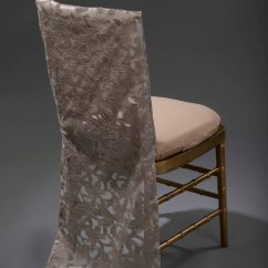Chair Cover Hire Preston Tan Leather Dining Chairs Champagne Iris Back Bailey Collection