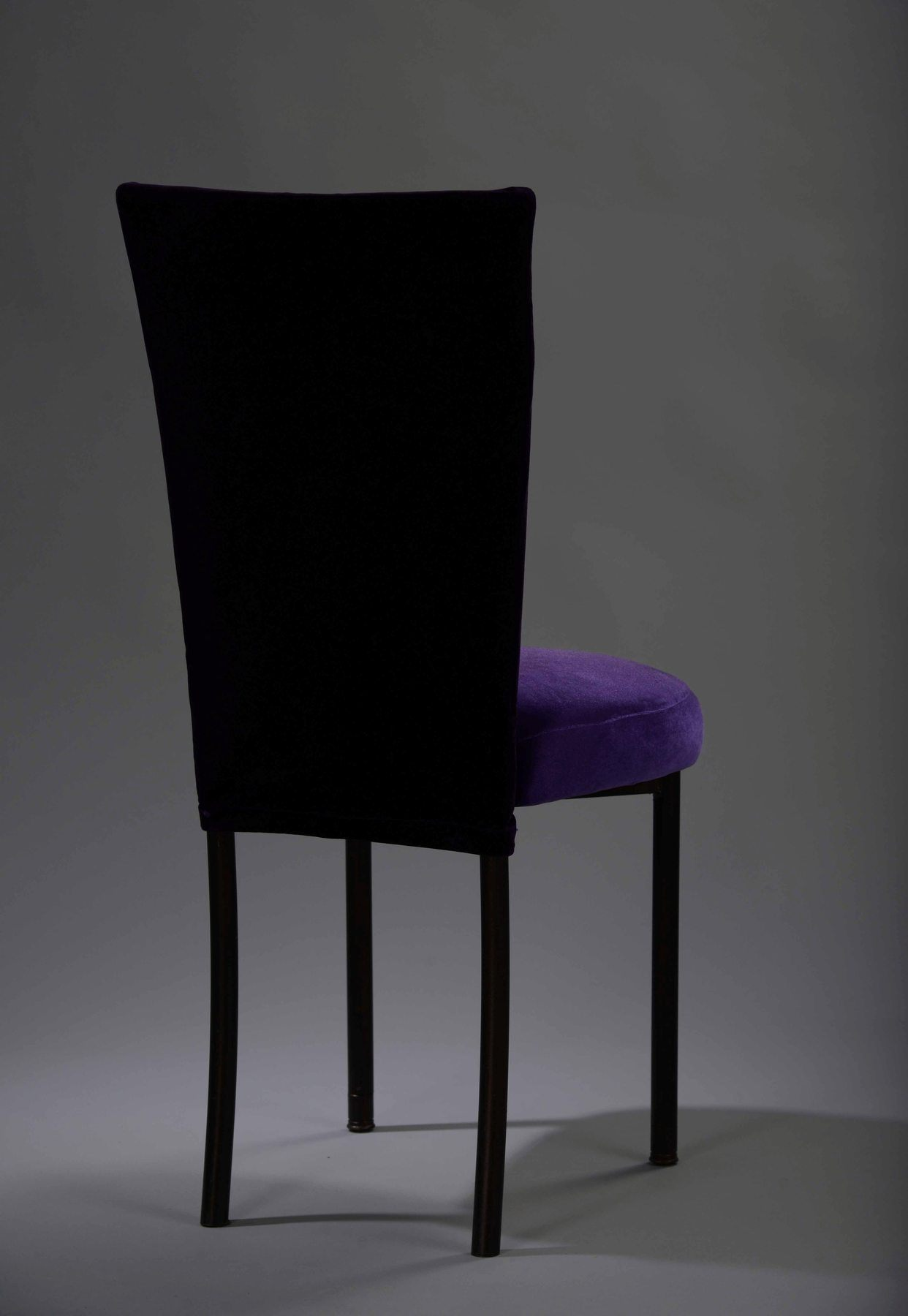 rent chair covers in chicago chairs 4 less purple velvet chameleon  cover nüage designs