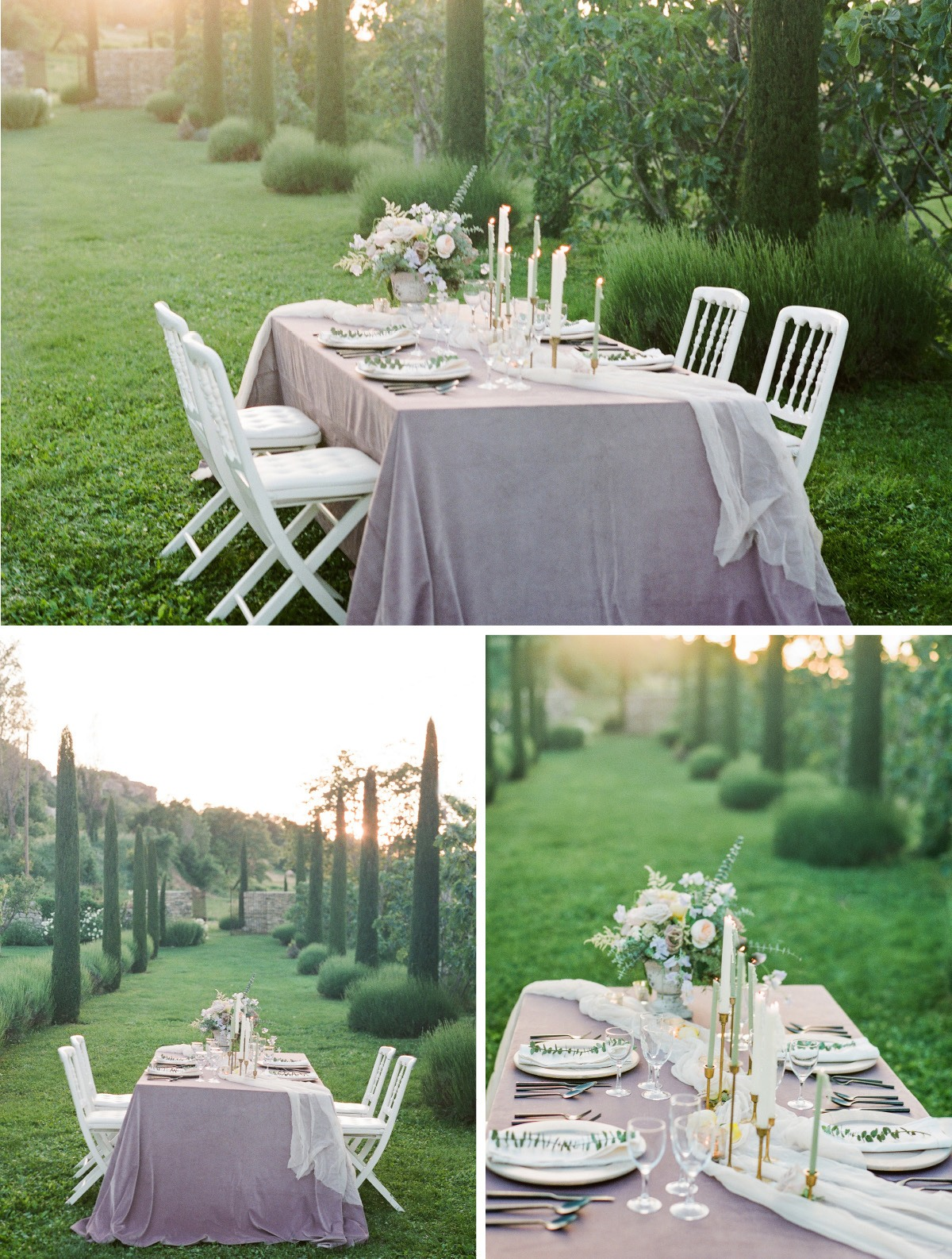 chair cover rentals langley wooden stackable church chairs wedding inspiration archives page 3 of 5 nuage designs our lilac velluto linen with its soft velvet feel set the base for table a wispy runner flowing in wind nod to textiles