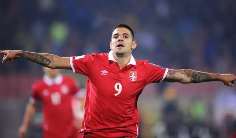 Aleksandar Mitrovic scores stunning strike for Serbia | NUFC Blog -  Newcastle United Blog