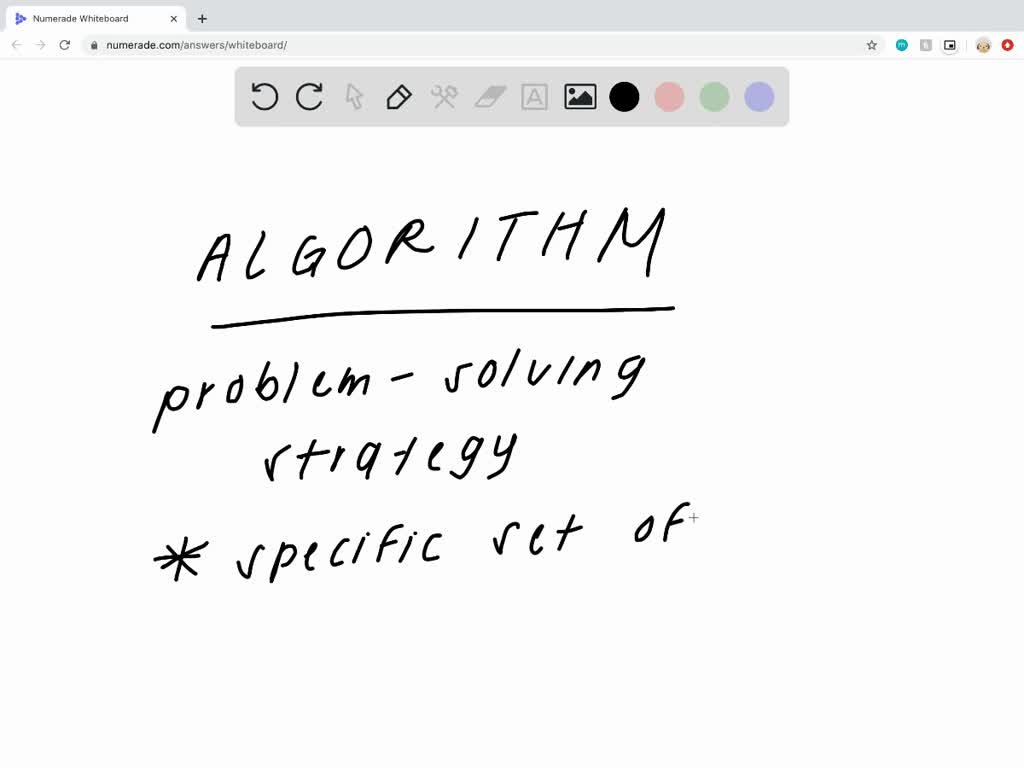 How does an algorithm save you time and energy wh…