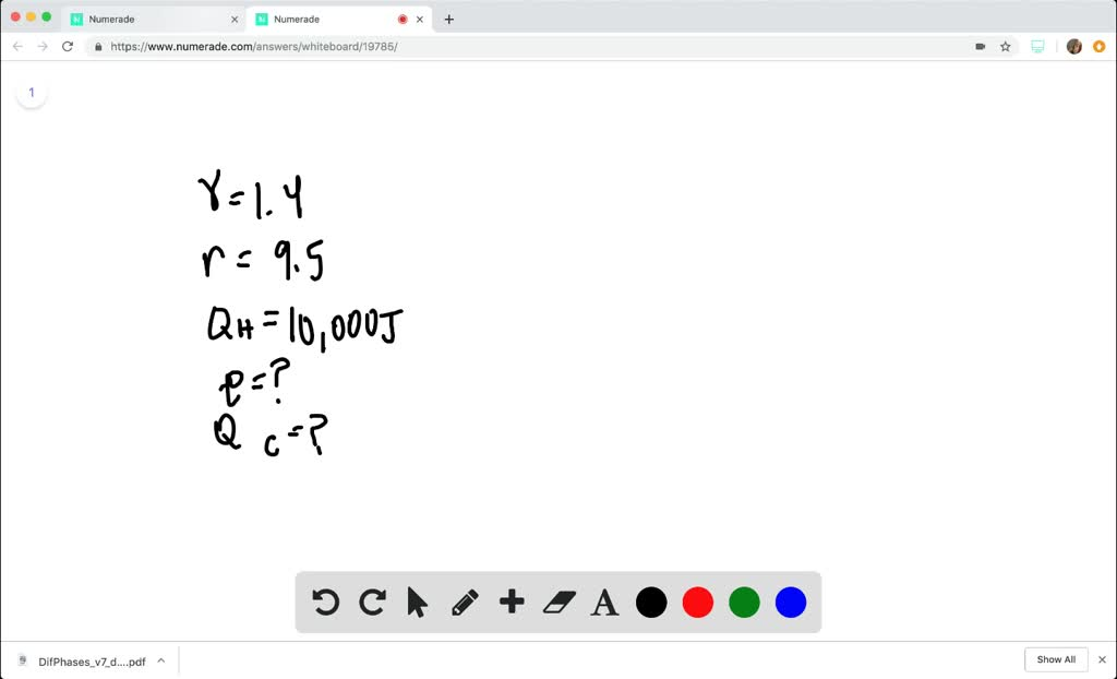 SOLVED:(a) Calculate the theoretical efficiency f…