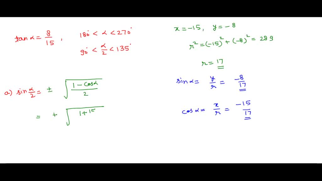 Use half-angle formulas to find the exact values.…