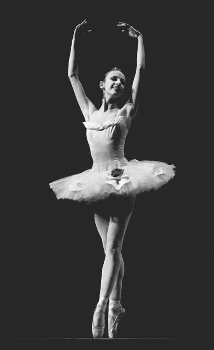 a ballerina inside out