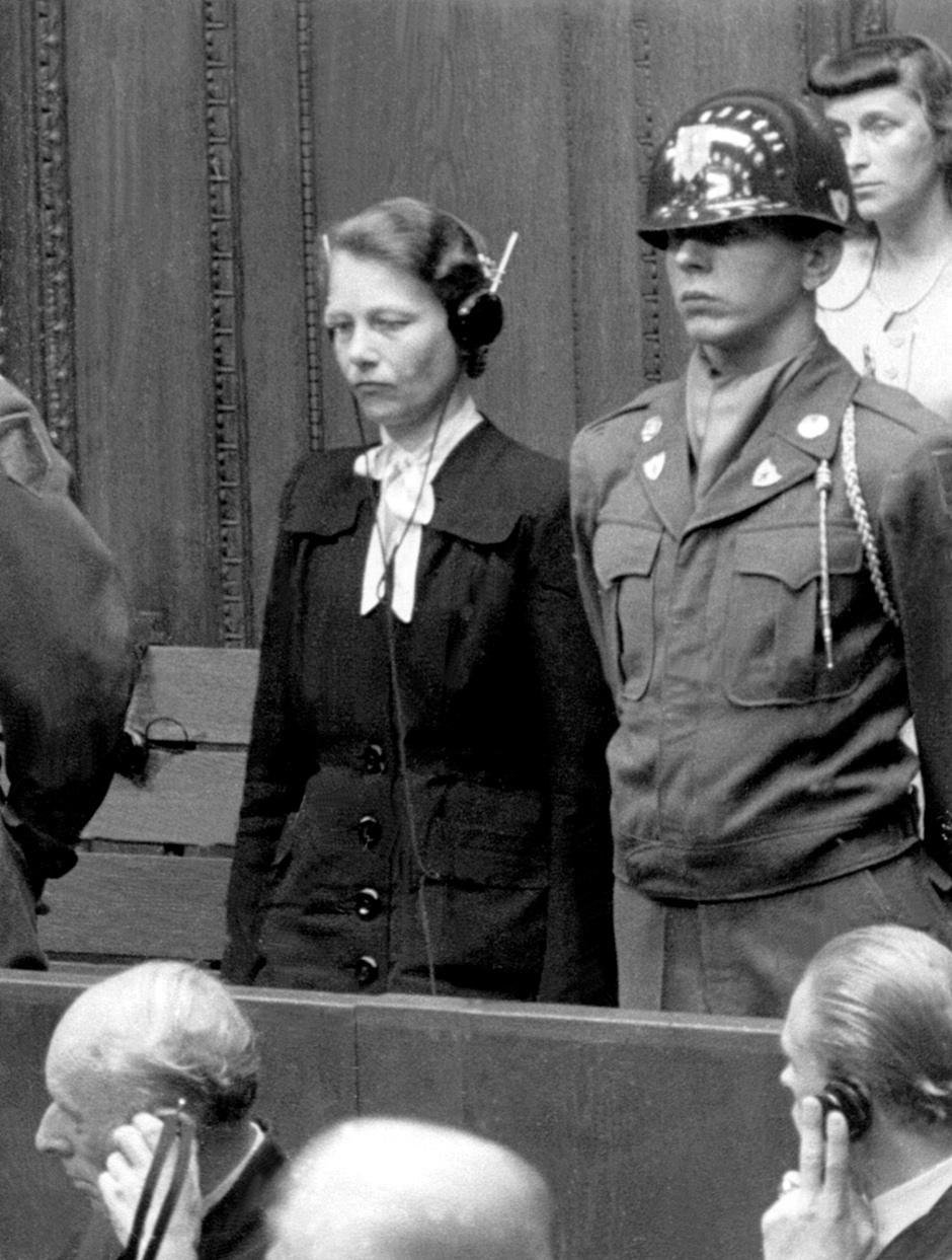 Image result for herta oberheuser trial