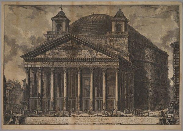 Giovanni Battista Piranesi Pantheon