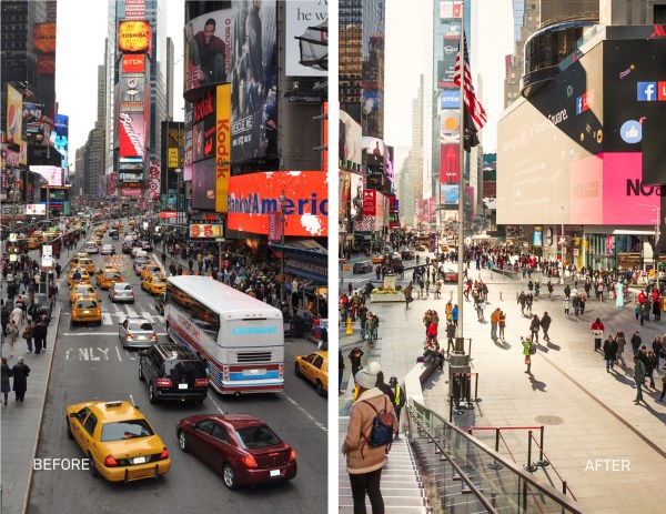 New York Times Square Before
