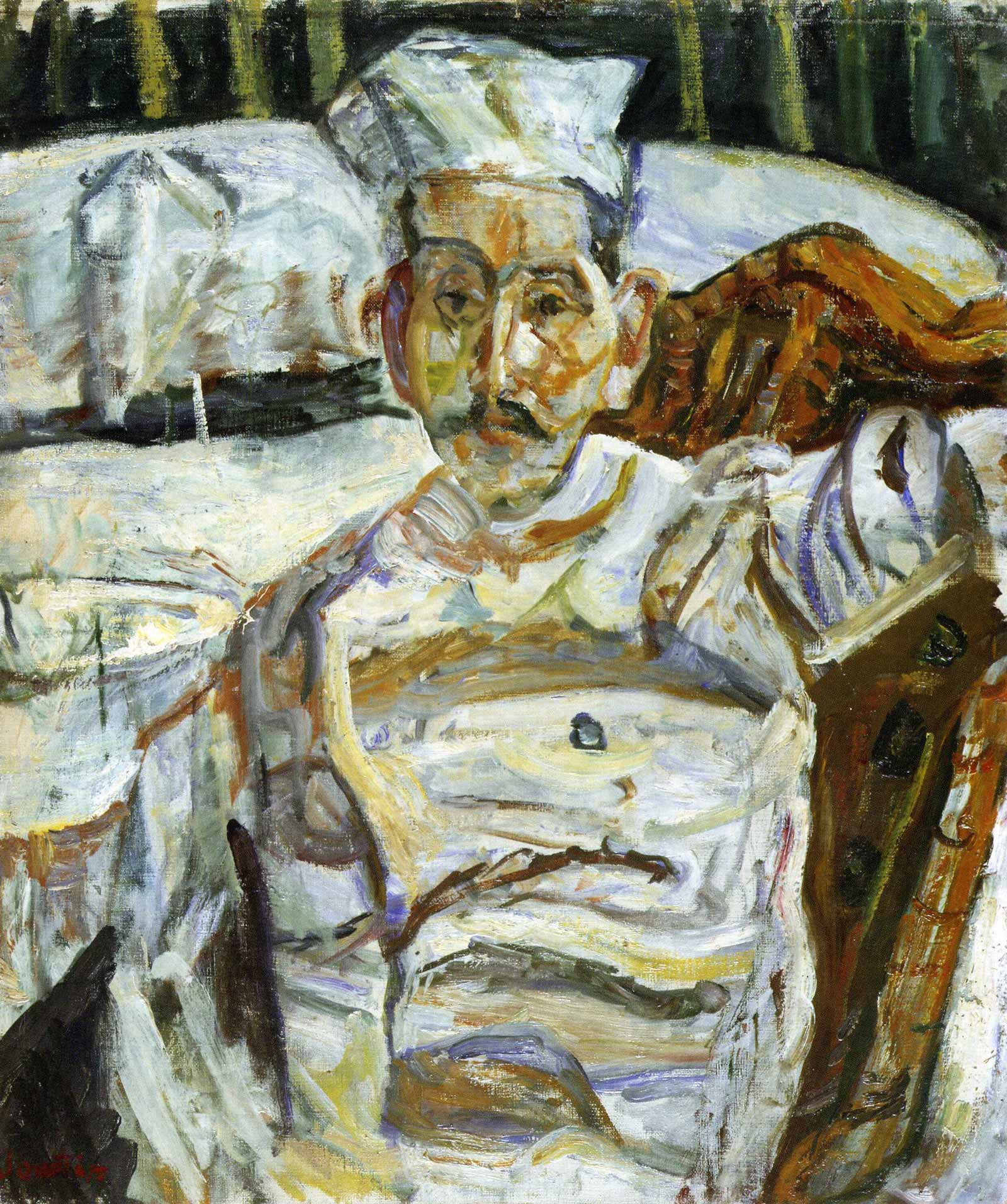 Cham Soutine the Butcher the Baker the Candlestick Maker  by Lucy Scholes  NYR Daily  The