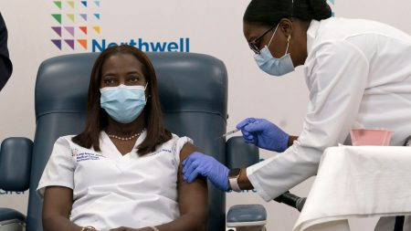 Nurse who Received First Coronavirus Vaccine in US Gets Second Shot