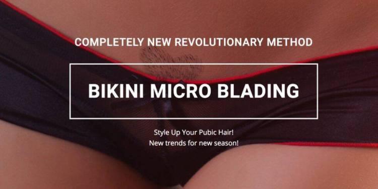 Image credit: Bikini microblading