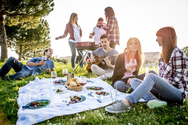 A picnic in the park is a great fun birthday that won't break the bank.
