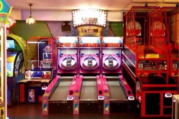 skee-ball chinatown arcade