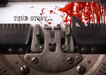 true crime junkies type writer
