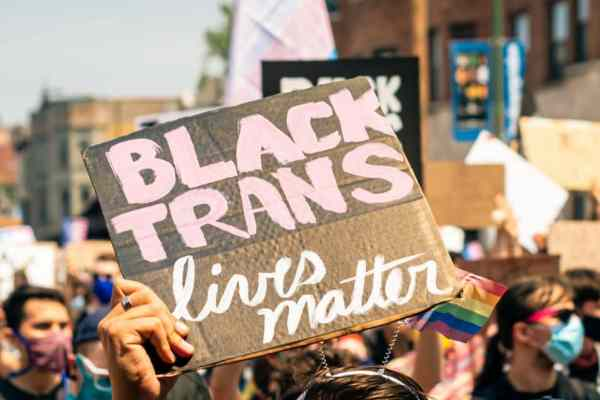 protest for trans rights