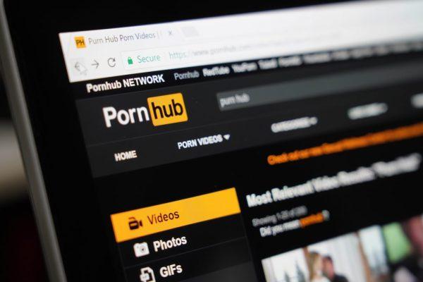 pornhub home screen