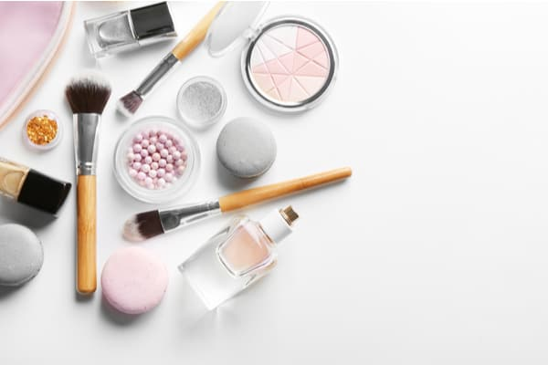 Makeup for beautiful skin