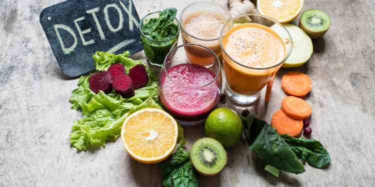 Detox for pain relief