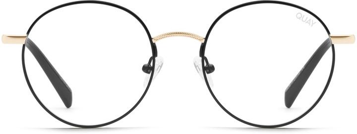 Round Eyeglasses Blue Light Blocking
