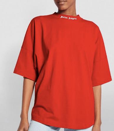 palm angels logo shirt