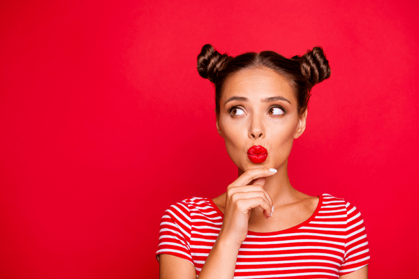 Step by step guide to make space buns.