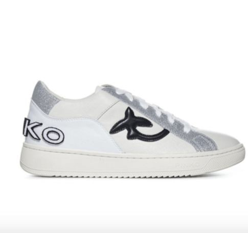 Pinko Embroidered Logo Low-Top Sneakers