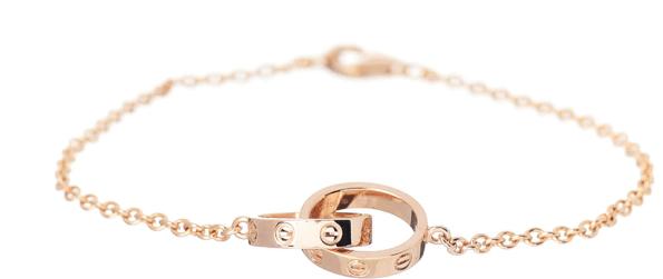 pink gold cartier bracelet