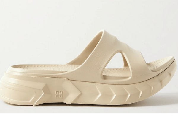 Givenchy - Marshmallow Rubber Slides - Neutrals