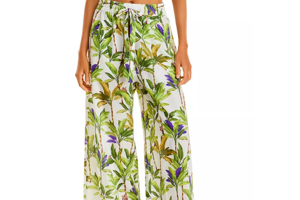 Vilebrequin Palms Printed coverup