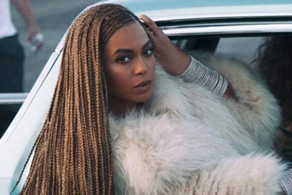 Beyonce's iconic lemonade braids.