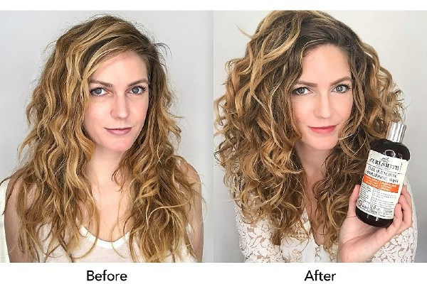 Get softer hair with Curlsmith Curl Quenching Conditioning Wash.