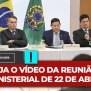 Vídeo Veja O Que Bolsonaro Disse Aos Seus Ministros Na