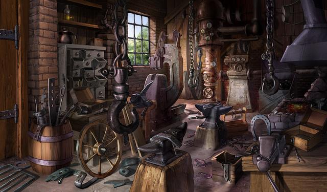 Blacksmith Forge Fantasy