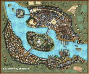 Elven Port City of Nordorf Kumari Campaign Obsidian Portal