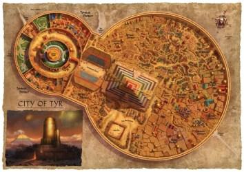 tyr sun dark map dragons dungeons rpg maps fantasy dragon athas kalak dnd campaign dungeon karte state under obsidianportal von