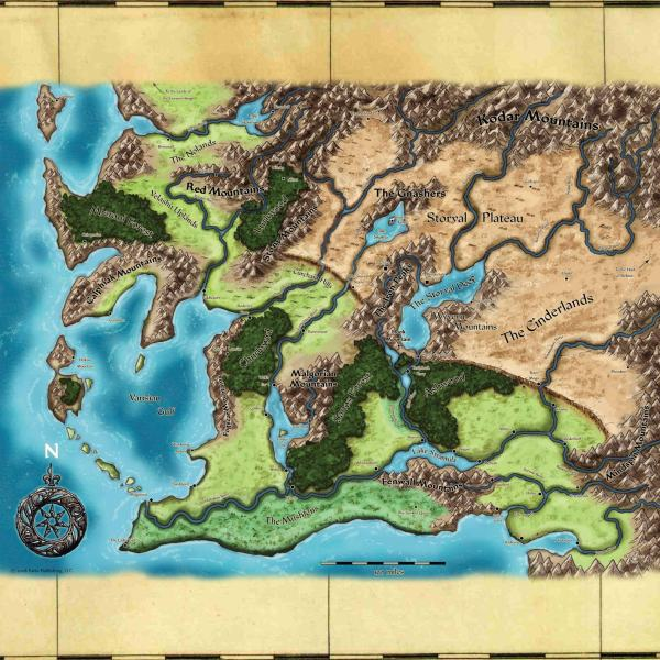 Pathfinder Rpg Varisia Map Imgurl