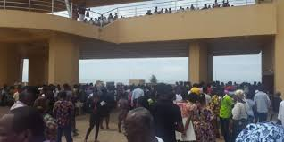 JHS Girl Collapse At Independence Square Over SHS Placement Confusion