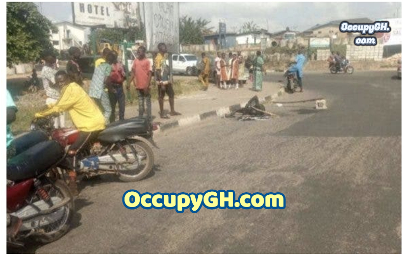 Young Man Set Ablaze For Snatching Motorcycle
