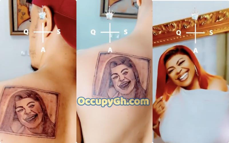 Afia Schwarzenegger Son Tattoos