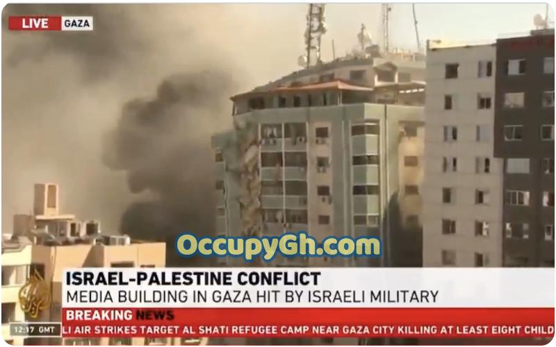 Israeli Airstrike Destroys Al Jazeera Building